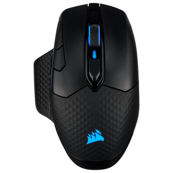 MOUSE Corsair gaming, wireless, Bluetooth | Wireless, optic, 18000 dpi, butoane/scroll 8/1, iluminare, butoane programabile, mod dual de conectare 2