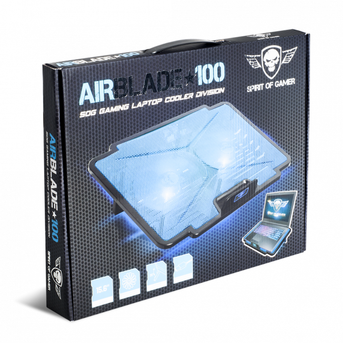 Cooler Laptop Gaming AirBlade 15.6 Inch Albastru 3