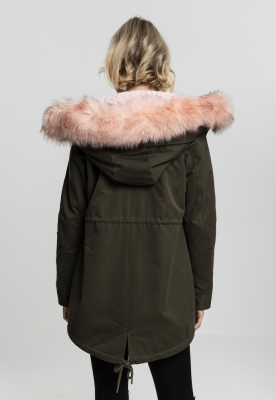 Geaca Ladies Peached Teddy Lined Parka Marime M 2