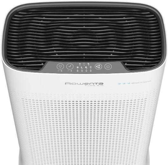 Rowenta Purificator aer Intense Pure Air Connect PU3040F0, Acoperire pana la 120 mp, Filtru Carbon 3