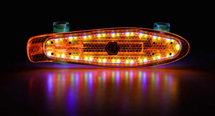 Pennyboard Full Led ABEC 7 3