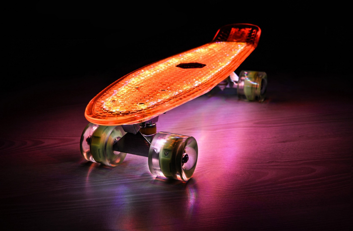Pennyboard Full Led ABEC 7 2