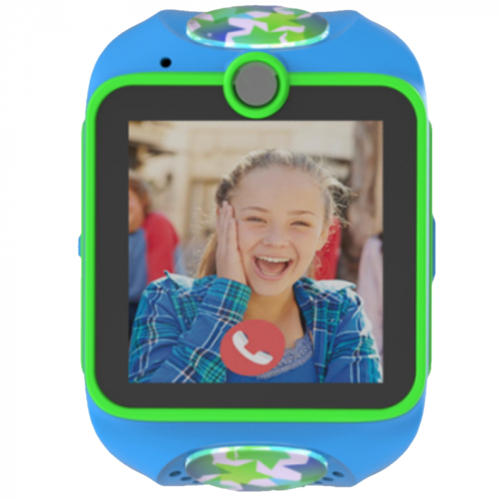 Ceas smart Smartwatch Junior 3G cu apel video,Albastru 0