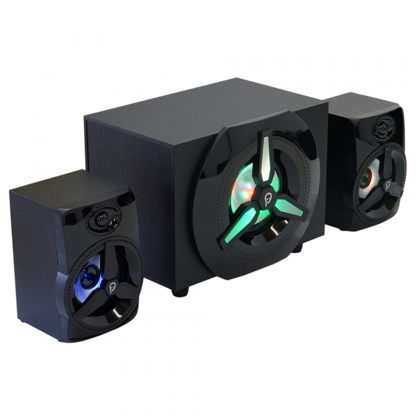 Boxe Gaming Spacer 2.1, RMS 16W (2x3W + 10W), 4xLED 1