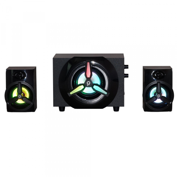 Boxe Gaming Spacer 2.1, RMS 16W (2x3W + 10W), 4xLED 2