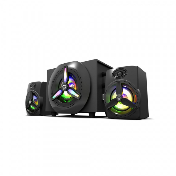 Boxe Gaming Spacer 2.1, RMS 16W (2x3W + 10W), 4xLED 0