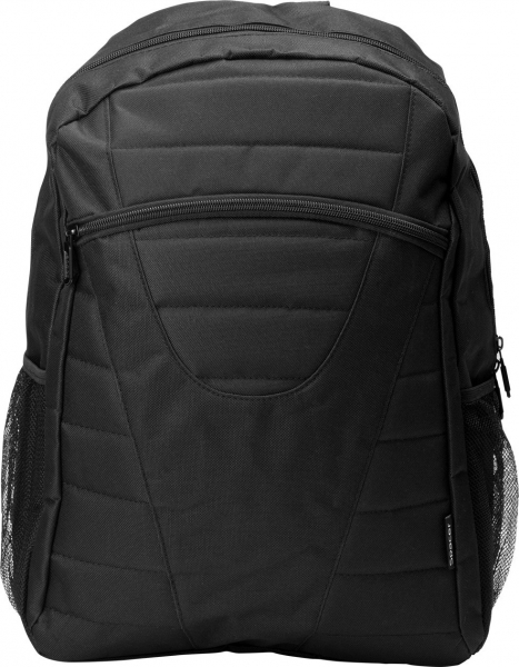 "Rucsac pt. notebook de max. 15.6″, 1 compartiment, buzunar frontal, buzunar lateral x 2, waterproof, nylon, negru, ""Buddy"" 0"