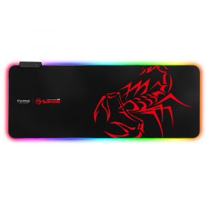 Mouse Pad Gaming Marvo  Iluminare RGB  marime XL0