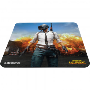 Mousepad SteelSeries QcK+ PUBG Erangel Edition1