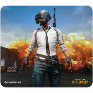 Mousepad SteelSeries QcK+ PUBG Erangel Edition0