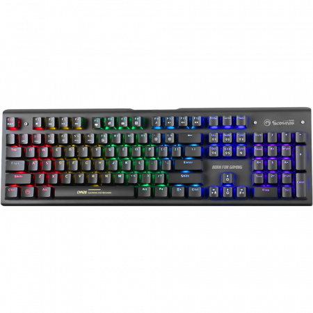 Kit Gaming 3 in 1 tastatura contacte mecanice, mouse, mousepad1