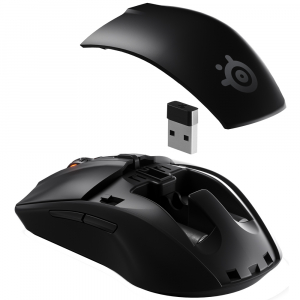 Mouse Gaming Wireless STEELSERIES Rival 3 Wireless, 18000 dpi, negru2