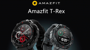 Smartwatch AMAZFIT T-Rex, Android/iOS, silicon, Rock Black3