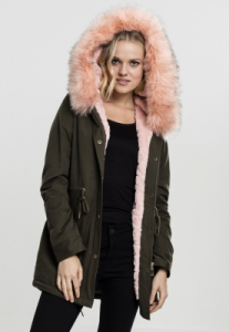 Geaca Ladies Peached Teddy Lined Parka Marime M0