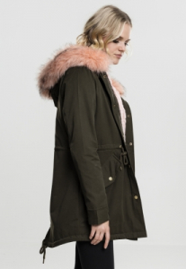 Geaca Ladies Peached Teddy Lined Parka Marime M3
