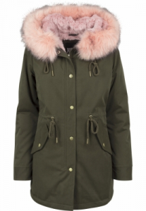 Geaca Ladies Peached Teddy Lined Parka Marime M4