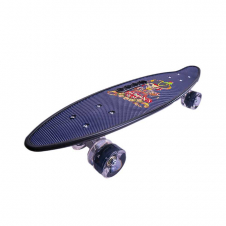 Skateboard cu Led,roti silicon1