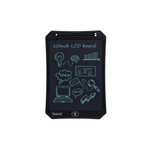 "Tableta LED pentru scris si desenat, interactiva, e-learning, 10"" display, black, baterie CR20250"