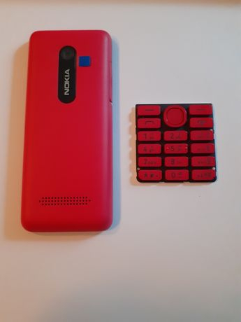 Carcasa originală nokia 206, red edition 0