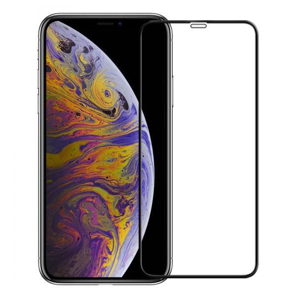 FOLIE STICLA IPHONE XS MAX FULLFACE BLACK/ VONUO [0]