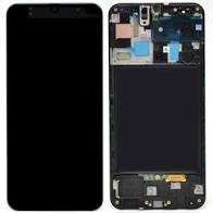 Lcd display complet Samsung A50, A505, Black, 1