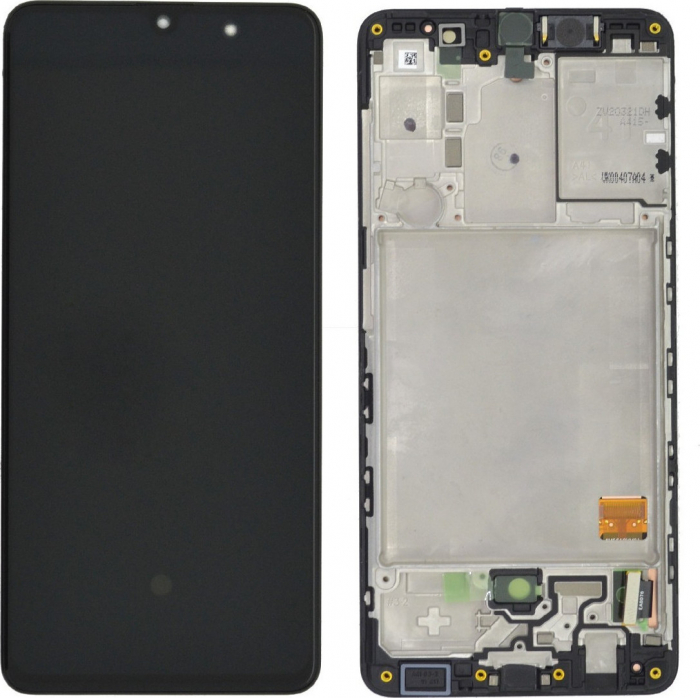 LCD DISPLAY SAMSUNG A41 A415, ORIGINAL, OEM, BLACK 0