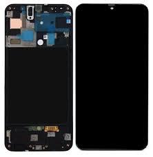 LCD DISPLAY SAMSUNG A71, A715F, ORIGINAL, OEM, BLACK [0]