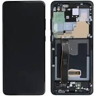 LCD DISPLAY SAMSUNG S20 ULTRA G988, CU RAMA BLACK 0