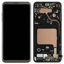 Display complet LG V30 + Touch, OLED, Black0