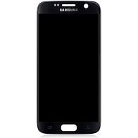 Lcd Display complet Samsung S7, G930, black, gold [0]