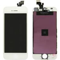 Lcd Display iphone 5, white, black [0]