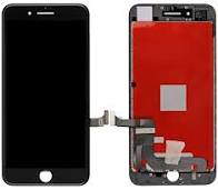 Lcd Display Iphone 7 plus, white, black [0]