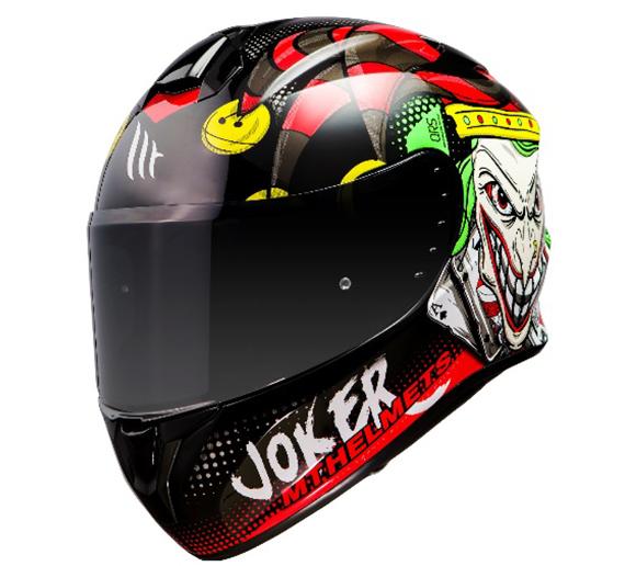Casca integrala MT Targo Joker A1 negru lucios [0]