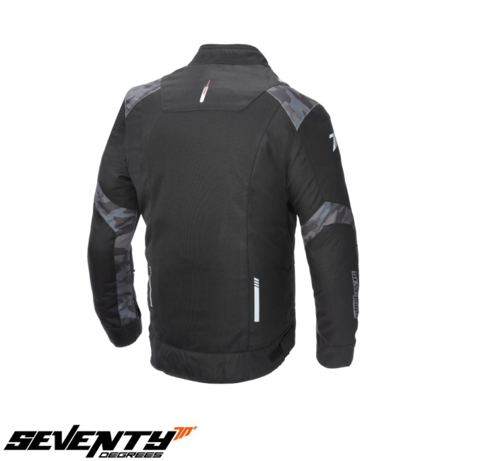 Geaca de vara (jacheta) barbati model Racing Seventy SD-JR52 culoare: negru/camuflaj [0]