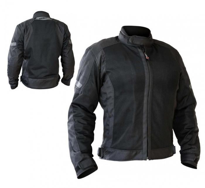 Geaca (jacheta) motociclete femei Touring model Unik Racing VZ-06 culoare: negru [1]
