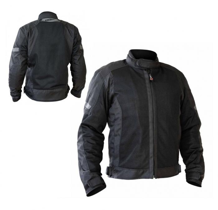 Geaca (jacheta) motociclete barbati model Touring Unik Racing VZ-06 culoare: negru [3]