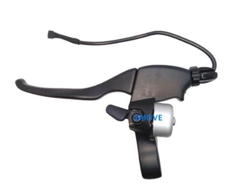 Maneta frana pentru trotineta electrica cu senzor si sonerie - partea stanga [0]