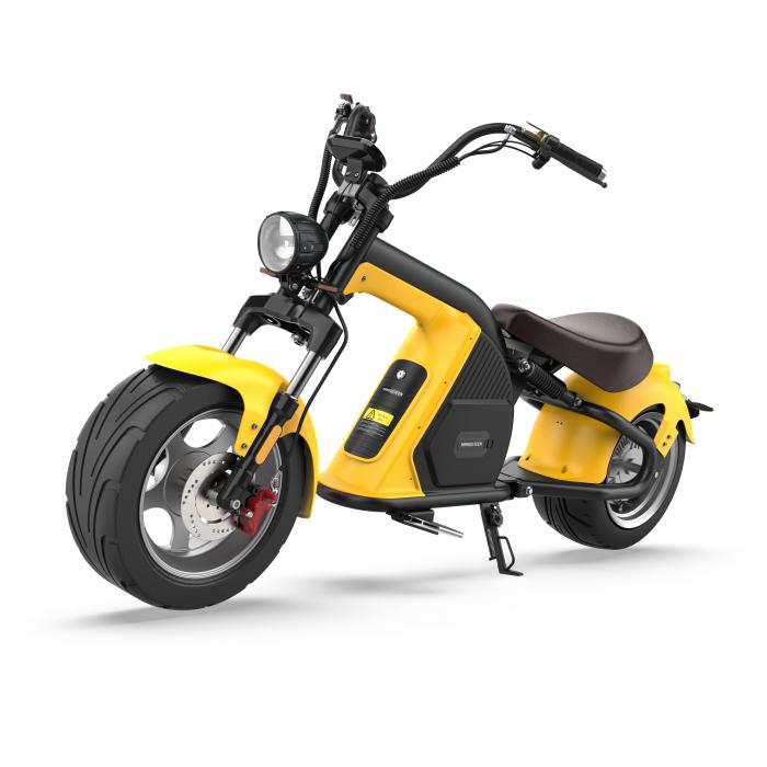 Moped electric Rooder Runner, Putere 2000W, Autonomie 120-160km, Baterie 60V60A,  2 baterii de 30 Ah, Viteza max. 25km/h/ FARA PERMIS [0]