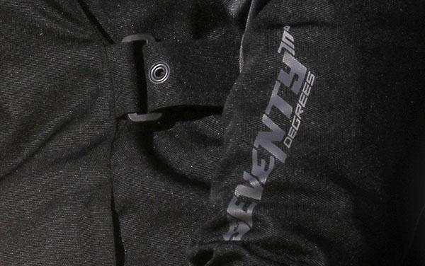 Geaca (jacheta) de vara/iarna motociclete femei model Urban Seventy SD-JC51 culoare: negru/gri [5]