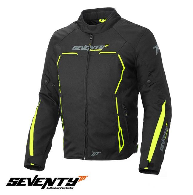Geaca (jacheta) barbati negru/galben fluor model Racing Seventy model SD-JR65 vara/iarna [0]