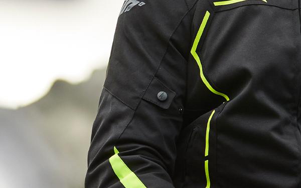 Geaca (jacheta) barbati negru/galben fluor model Racing Seventy model SD-JR65 vara/iarna [4]