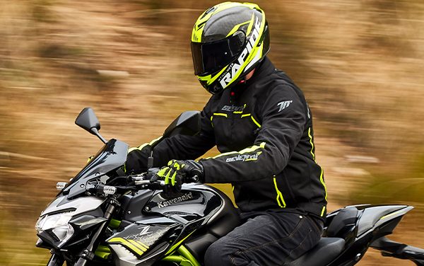 Geaca (jacheta) barbati negru/galben fluor model Racing Seventy model SD-JR65 vara/iarna [5]