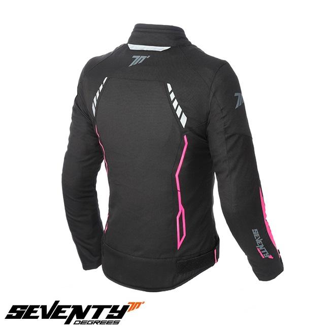 Geaca (jacheta) vara/iarna femei Racing Seventy model SD-JR67 culoare: negru/roz [1]
