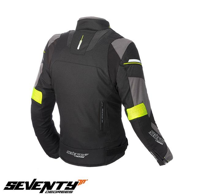 Geaca (jacheta) femei Racing Seventy vara/iarna model SD-JR71 culoare: negru/galben fluorescent [1]