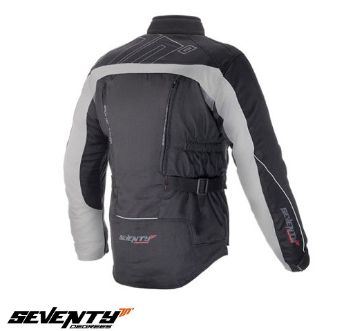 Geaca (jacheta) motociclete barbati model Touring Seventy SD-JT41 culoare: negru/gri [1]