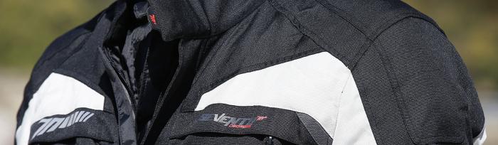 Geaca (jacheta) motociclete barbati model Touring Seventy SD-JT41 culoare: negru/gri [2]