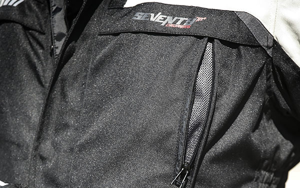Geaca (jacheta) motociclete barbati model Touring Seventy SD-JT41 culoare: negru/gri [3]