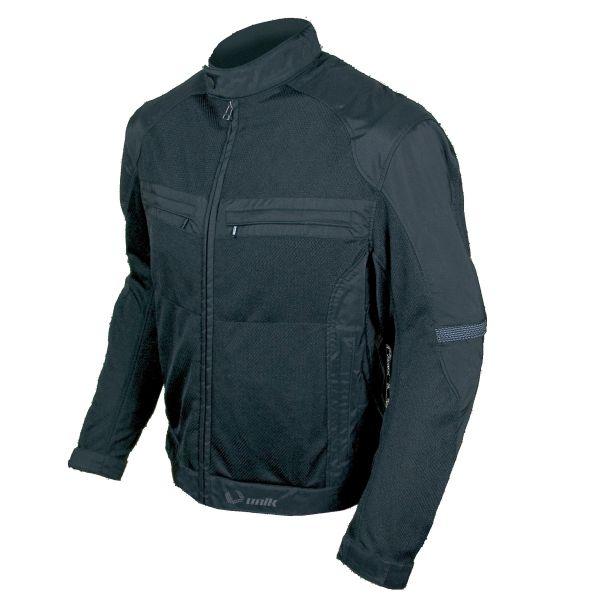 Jacheta motociclete barbati model Unik Racing VZ-04 culoare: negru [0]