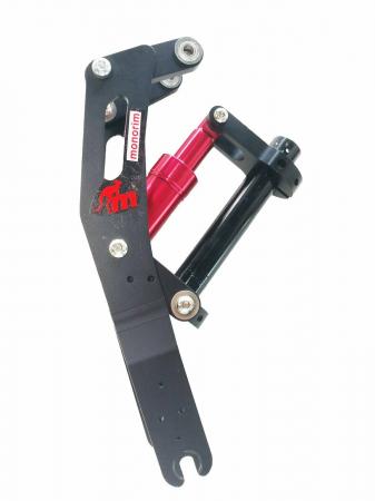 Suspensie monorima rosie pentru xiaomi M365 &Pro0