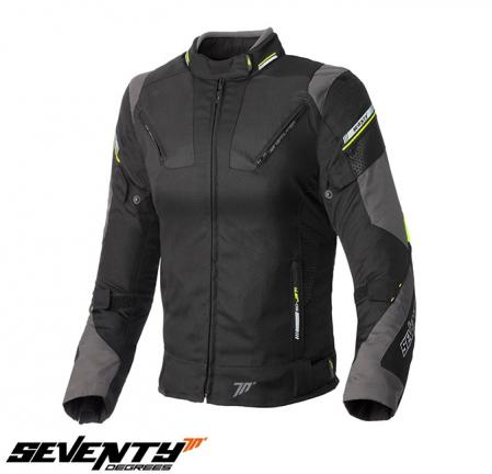 Geaca (jacheta) femei Racing Seventy vara/iarna model SD-JR71 culoare: negru/galben fluorescent [0]